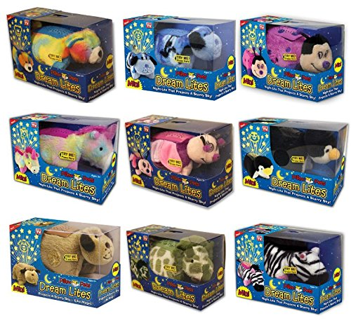 Mini Pillow Pets Dream Lites Full Bundle Set of 9 (Couch With Built In Fridge compare prices)