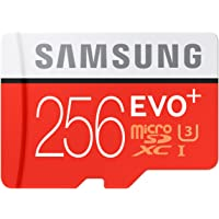 Samsung EVO+ MB-MC256DA/AM 256GB UHS-I / U3 633x SDXC Memory Card w/ Adapter