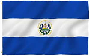 El Salvador national flag