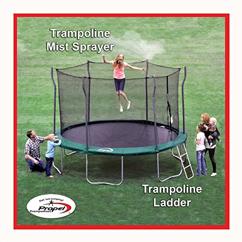 Propel Trampolines Ladder And Mister Kit Sporting Goods