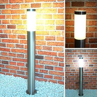 aussenleuchte aussenlampe standleuchte edelstahl 232 800 wegeleuchte gartenlampe. Black Bedroom Furniture Sets. Home Design Ideas