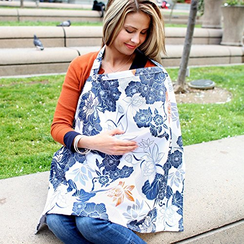 Bebe au Lait Premium Cotton Nursing Cover, Katori
