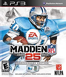 Madden NFL 25 Anniversary Edition with NFL Sunday Ticket - Playstation 3 by EA Sports