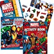 Marvel Heroes® Coloring Book Set with Stickers, Growth Chart and Poster