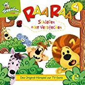 Schlafen oder verstecken (Raa Raa 4): Das Original-Hörspiel zur TV-Serie | Thomas Karallus