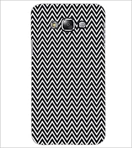 PrintDhaba ZigZag Pattern D-5908 Back Case Cover for SAMSUNG GALAXY GRAND 3 (Multi-Coloured)