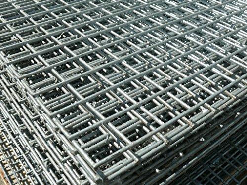 Cheap Welded Wire Mesh Panel 8ft x 4ft Galvanised Steel Sheet Metal ...