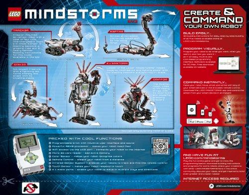 Amazon.com : LEGO Mindstorms EV3 31313 : Toy Interlocking Building Sets