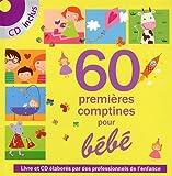 echange, troc Jean Naty Boyer, Rémi Guichard, Pascal Boille, Collectif - 60 Premières comptines pour bébé (1CD audio)