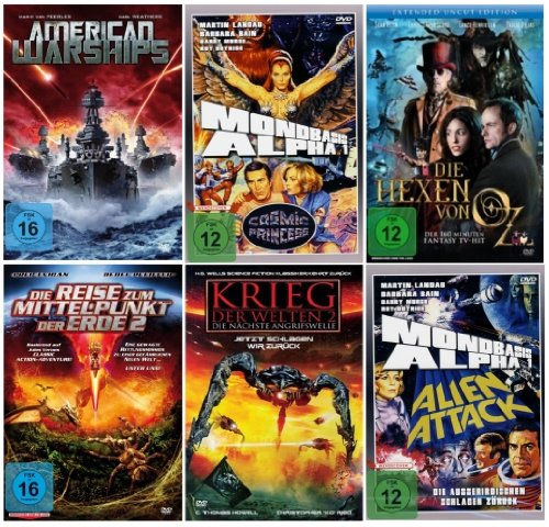 Science Fiction - Fantasy Mega Collection (6 DVD's)