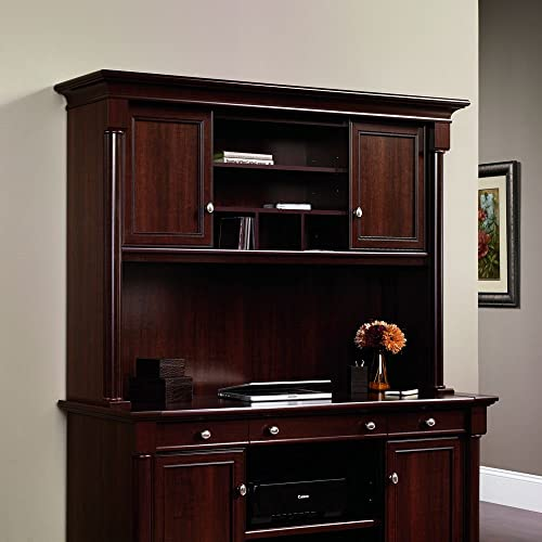 Sauder Palladia Hutch Select Cherry
