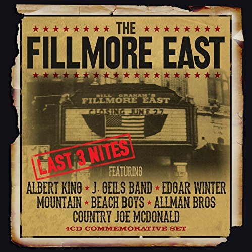 The Fillmore East- Last 3 Nites ( 4 cd Box set)
