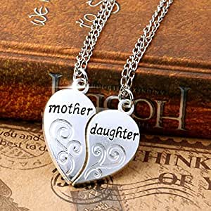 Amazon.com: Best Gift For Mom/Mum 2PC/Set Love Heart Mother Daughter