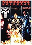Marvel Kolekcja Komiksowa: Ghost Rider/ Hellboy/ Punisher BOX [3DVD] (English audio. English subtitles)