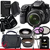 Sony Alpha SLT-A58K SLT-A58 DSLR Digital Camera with 18-55mm Lens 32GB Package 2