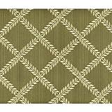"Lenox Linens Laurel Leaf Sage #7101 Tablecloth 70"" X 104"" Oval"