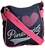 Pineapple Women's I Heart Navy/Pink Cross Body Bag EA1018