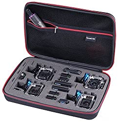 Smatree® SmaCase G360 Large-Size Gopro Case for Gopro Hero4, 3+, 3, 2, 1 and Accessories (13.4