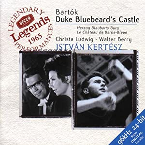 Bartók: Duke Bluebeard's Castle / Kertész, Ludwig, Berry