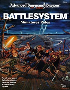 Battlesystem: Miniatures Rules (Advanced Dungeons & Dragons) by Douglas Niles