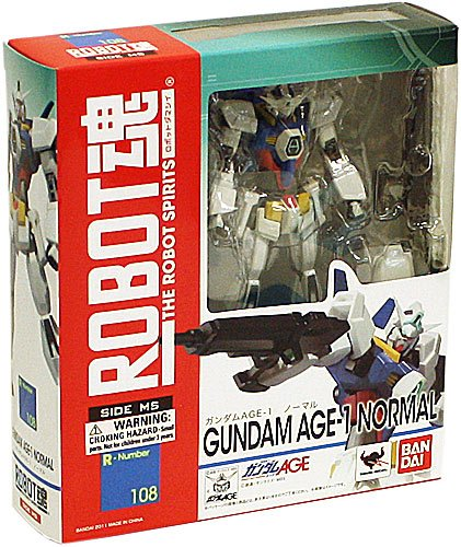 Bandai Tamashii Nations #108 Normal Gundam Age Robot Spirits (Anime Robot compare prices)