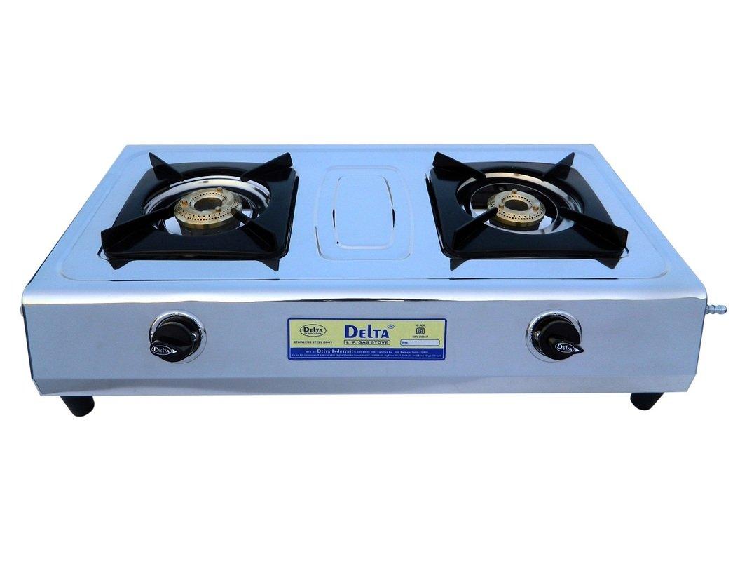 Delta 2055 Stainless Steel 2 Burner Gas..