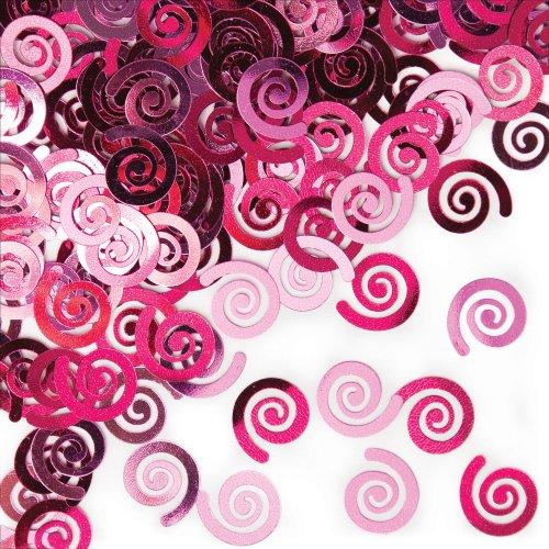 Candy Pink Swirls Confetti
