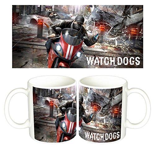 Watch Dogs D Tazza Mug