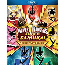 Power Rangers Super Samurai: The Complete Season [Blu-ray]