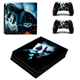 Adventure Games PS4 PRO - Joker - Playstation 4 Vinyl Console Skin Decal Sticker + 2 Controller Skins Set (Tamaño: PS4 PRO)
