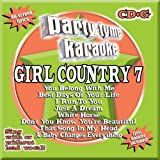 Party Tyme Karaoke: Girl Country 7 Various Artists