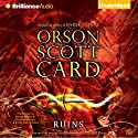 Ruins: Pathfinder, Book 2 (       UNABRIDGED) by Orson Scott Card Narrated by Stefan Rudnicki, Kirby Heyborne, Emily Janice Card