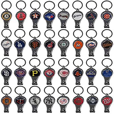 Officially Licensed MLB 3 in 1 Keychain Nail Clipper & Bottle Opener & UAA Decal