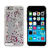 Bling Case for iPhone 6,Liquid Case for iPhone 6,Glitter Case for iPhone 6,MANBO Creative Design Flowing Liquid Floating Luxury Bling Glitter Sparkle Stars Hard Case for iPhone 6 4.7 inch from MANB