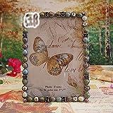 American Vintage regalo di nozze colorato perla di inviare la sua fidanzata un telaio romantica cornice altalene