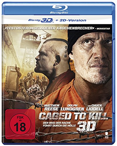 Caged To Kill [3D Blu-ray + 2D Version]