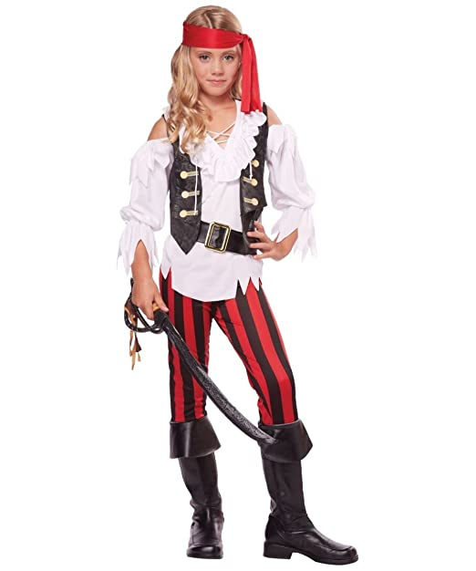 Posh Pirate Costumes for Girls