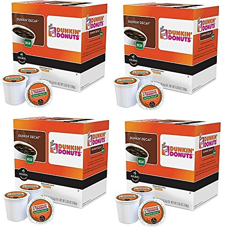 Dunkin Donuts Decaf Coffee K-Cups For Keurig K Cup Brewers (64 count) (Keurig Dunkin Donuts Decaf compare prices)