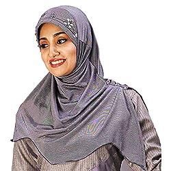 Mawar Soft Poly cotton Hand Work Design Hijab
