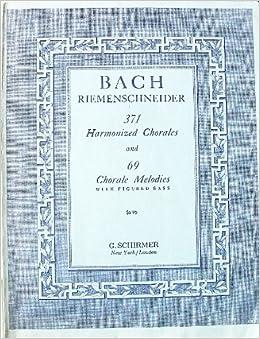 Bach meoldies so that htey fit his harmonies