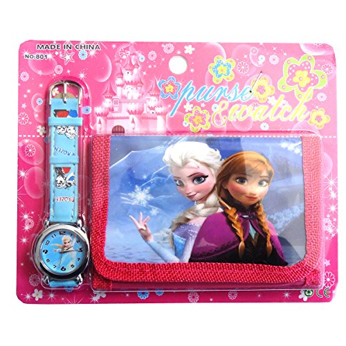 Frozen Children's Watch Wallet Set For Kids Children Boys Girls Great Christmas Gift Gifts Present - Sold by Happy...