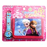 Frozen Children's Watch Wallet Set Fo...
