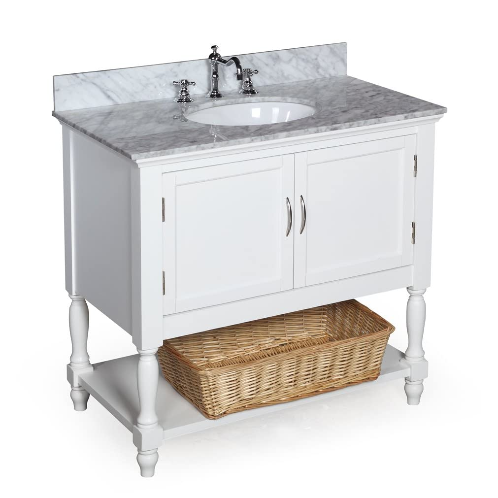 Home design interior monnie small bathroom vanity for Double vanity for small bathroom