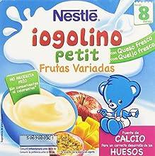 Iogolino Petit Frutas Variadas A Partir De 8 Meses - Pack de 4 x 100 g - Total: 400 g