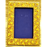"The India Craft House Kashmiri Art - Papier Mache Photo Frame (8""*6"") KAWPHO8Y"