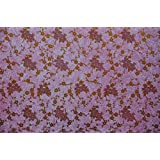 BDPP GOLD AND BABY PINK PRINT ON WHITE BASE PREMIUM WRAPPING PAPERS (PACK OF 10)