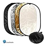 LIMOSTUDIO 24X36 PHOTO VIDEO STUDIO -  Multi Collapsible Disc Lighting Reflector 5-in-1, AGG1266