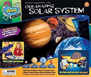 POOF-Slinky 7100 Slinky Science Our Amazing Solar System Model Kit by Slinky Science TOY (English Manual)