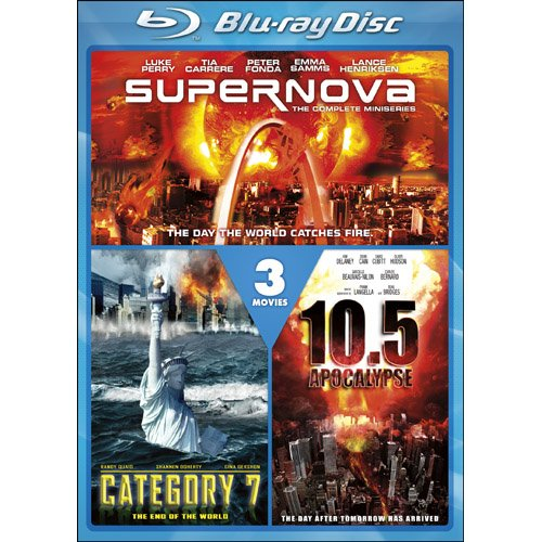 Cover art for  Supernova / Category 7: The End of the World / 10.5 Apocalypse [Blu-ray]