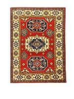 L'EDEN DEL TAPPETO Alfombra Uzebekistan Super Rojo/Multicolor 152 x 208 cm